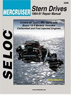 Mercruiser all gasoline enginesdrives 2001 thru 2013 seloc mercruiser stern drives 1964 1991 seloc marine tune up and repair manuals fandeluxe Images