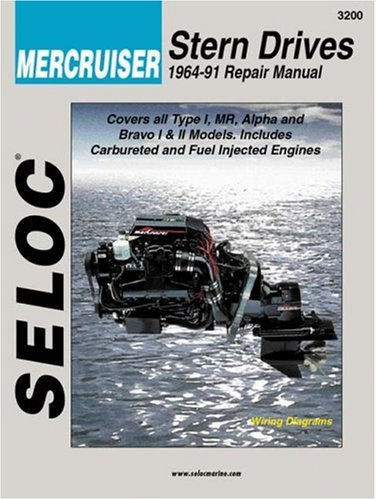 Mercruiser Stern Drives 1964 – 1991 (Seloc Marine Tune-Up and Repair Manuals)
