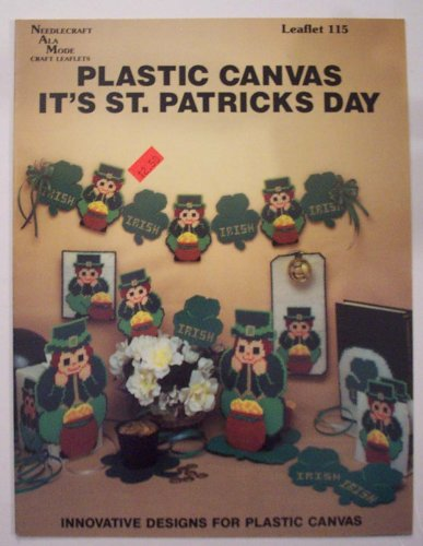 Plastic Canvas It's St. Patricks Day