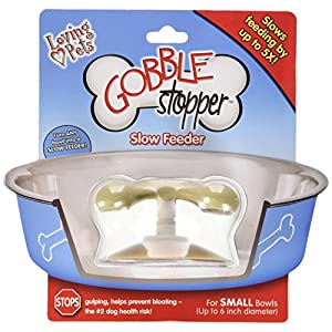 Loving Pets Gobble Stopper Slow Pet Feeding Supplies for Dogs 119