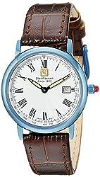 Steinhausen Women's WWL493UWCA Dunn Luxe Analog Display Swiss Quartz Brown Watch