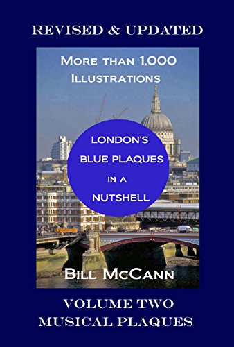 Ballet Plaque - London's Blue Plaques in a Nutshell: Volume Two: Musical Plaques