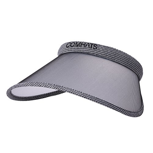 1cdfef2fb4cfd1 Clip On Visor Sun Hat UV Protection Women Wide Brim Travel Hat Gardener  Open Golf Top