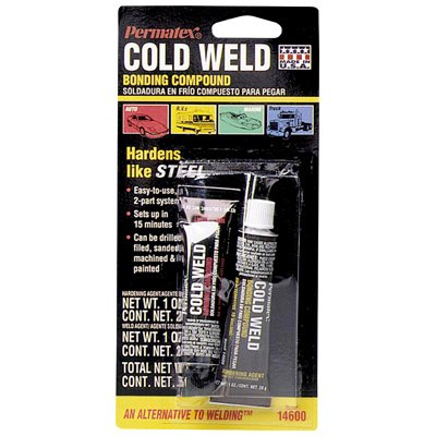 Permatex 14600 1 Oz Cold Weld Bonding Compound 2 Count