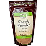 Carob Powder, Dry Roasted, 12 oz, NOW Foods