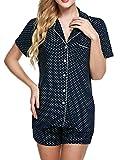 Ekouaer Pajama Set Womens Shor