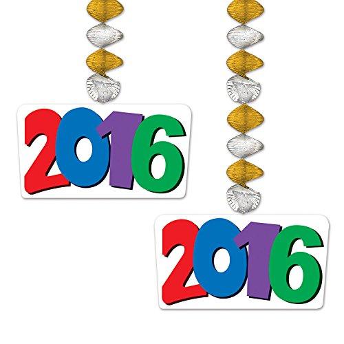 Beistle 2016 Danglers, 30-Inch, Multicolor