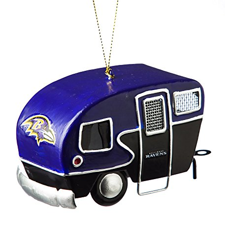 Baltimore Ravens Camper Ornament