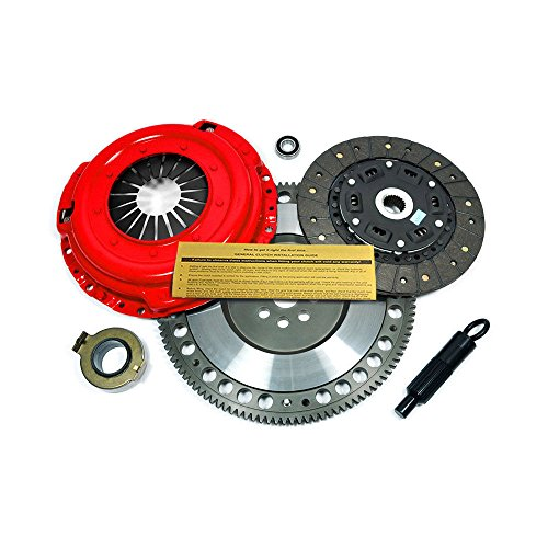 EFT STAGE 2 CLUTCH KIT+FLYWHEEL FOR SUBARU IMPREZA WRX 2.5L TURBO EJ255 5-SPEED (2012 Clutch Wrx Subaru)