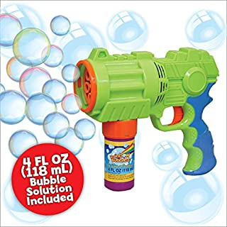 Bubble Blaster, Extreme Bubble Blowing Gun, Large, Motorized, Gift Box, Rainbow Bubbles
