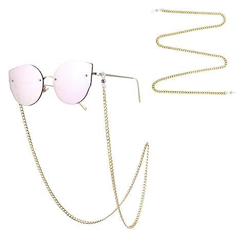FOONEE Cadenas para anteojos para Mujeres, niñas, Gafas de ...