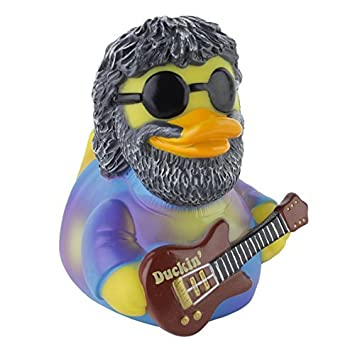 Duckin' Rubber Duck - Celebriduck for Grateful Dead Jerry Garcia Deadhead Fans lYwSgN