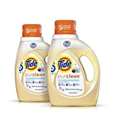 Tide Laundry Detergent Tide Purclean Liquid Laundry Detergent, Unscented, 100 Fl Oz (64 Loads)