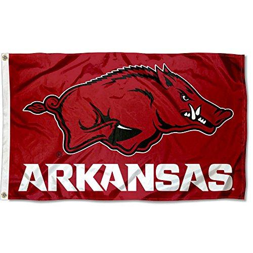 Arkansas Banner Flag Razorbacks (Arkansas Razorbacks Flag)
