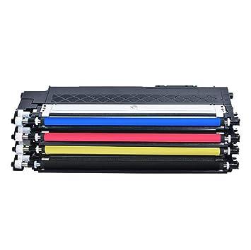 para Samsung CLT-K404S Cartucho de tóner SL-C430W C480FW Color ...