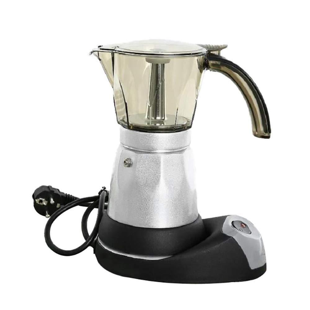 Acquisto ZUZEN 150ml / 300ml Caffettiera elettrica Espresso in Acciaio Inox Caffettiera Moka Macchina per caffè Espresso Macchina per caffè Espresso 480W Spina Europea Prezzi offerta