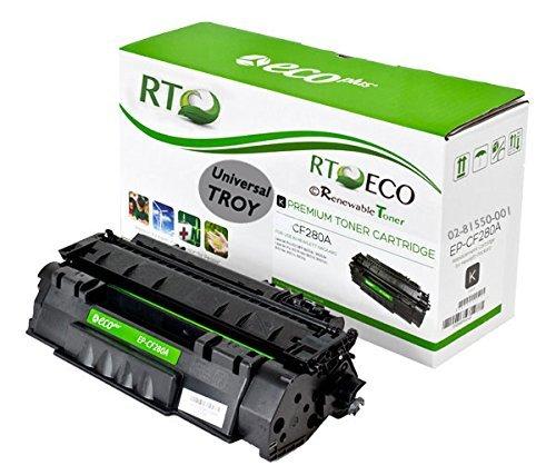 Renewable Toner HP CF280A 80A TROY 02-81550-001 MICR Toner Cartridge for Printing Checks on HP LaserJet Pro 400 MFP M401 M425 Series by Renewable Toner