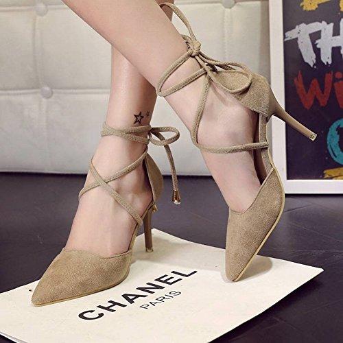 Correa de Del de Del Pie Anillo de Zapatos Tac Las la Mujeres Los fdZwUf