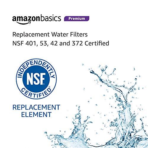 AmazonBasics Replacement Samsung DA29-00020B Refrigerator Water Filter - Premium Filtration - 3-Pack by AmazonBasics (Image #4)