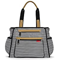 Skip Hop Grand Central Take-It-All Changing Bag - Black Stripe