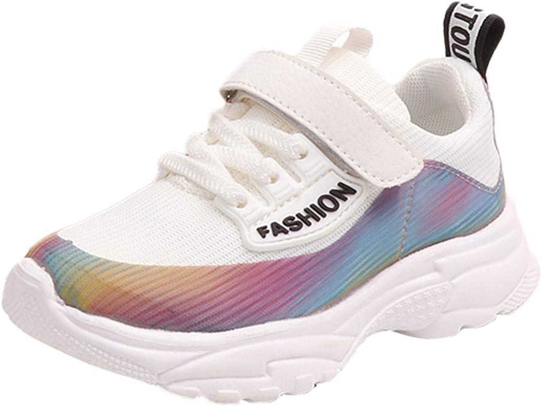 LANSKIRT_Zapatos Zapatillas Niño Deportivas, Malla Estampados para Niñas Calzado Deportivo para Correr Zapatillas Running de Cómodas y Transpirables para Escuela y Ejercicio(Blanco, 27 EU): Amazon.es: Ropa y accesorios