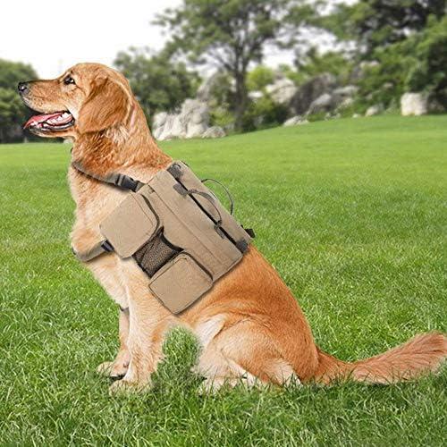 Ironhead Dog Hiking Pack Dog Saddle Backpack Dog Camping Hiking Bag Dog Camping Supplies Travel Hiking Outdoor Use for Medium Large Dog