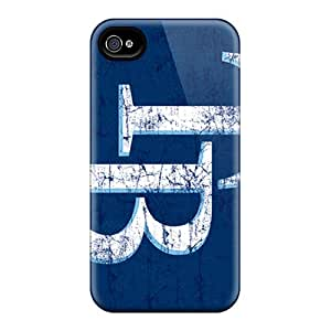 Bumper Hard Cell-phone Cases For Iphone 4/4s With Allow Personal Design Beautiful Tampa Bay Rays Skin Marycase88