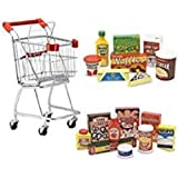 Melissa & Doug Food and Fridge Set Bundle Food and Fridge Set Bundle