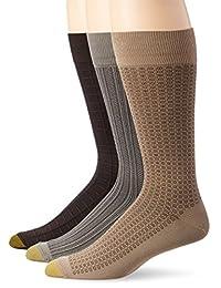 Gold Toe Men's Microfiber Fashion Socks (3 Pack)