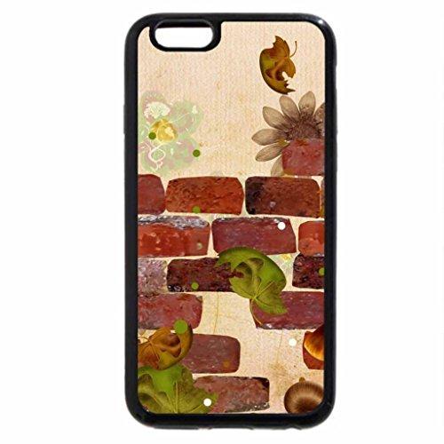 iPhone 6S Case, iPhone 6 Case (Black & White) - Autumn Foxy