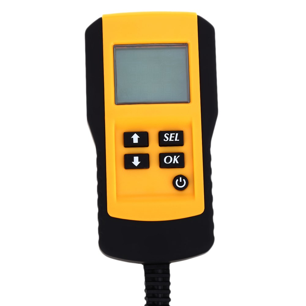OLSUS Car Digital Battery Test Analyzer - YELLOW AND RED by OLSUS (Image #4)