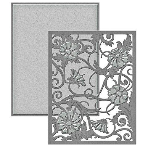 Spellbinders S4-586 Card Creator Die-Acanthus Leaf Card Front - Acanthus Leaf