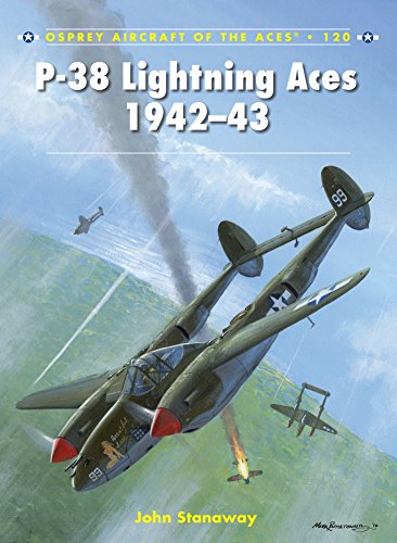 1942 Aircraft - P-38 Lightning Aces 1942-43 (Aircraft of the Aces Book 120)