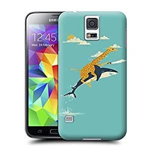 Unique Phone Case Animal painting patterns Onward Hard Cover for samsung galaxy s5 cases-buythecase