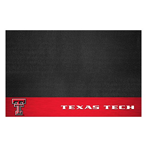 Fanmats NCAA Texas Tech University Red Raiders Vinyl Grill (Texas Tech Red Raiders Floor)