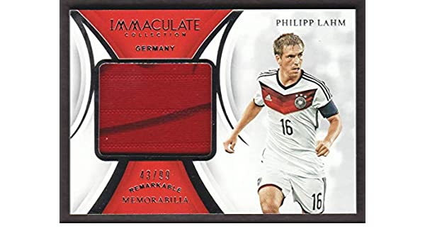 meet fa729 1dc00 2018-19 Immaculate Soccer Remarkable #RM-PL Philipp Lahm ...