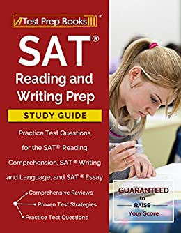 Argumentative Essay Sample High School Sat Reading And Writing Prep Study Guide  Practice Test Questions For The  Sat Reading Comprehension Research Essay Thesis also Argumentative Essay High School Amazoncom Sat Reading And Writing Prep Study Guide  Practice Test  Examples Of Thesis Statements For Essays