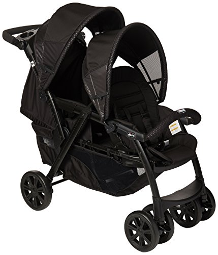 Chicco Carriola Doble Cortina Together, color Negro Obsidian