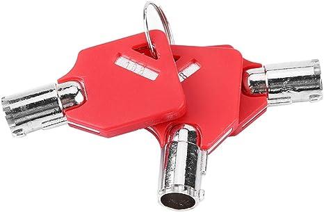 Qii lu Serratura di sicurezza per borsa da moto Set di blocco per borse da sella per moto Include 3 chiavi per Electra Glide