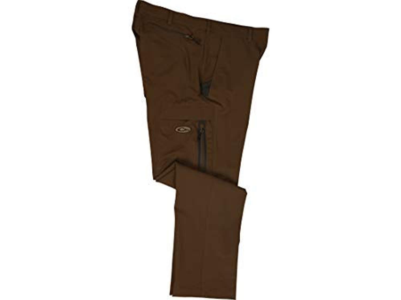 Drake Tech Stretch Pant, Color: Chocolate, Size: 32x30 (DW1584-CHC-3230)
