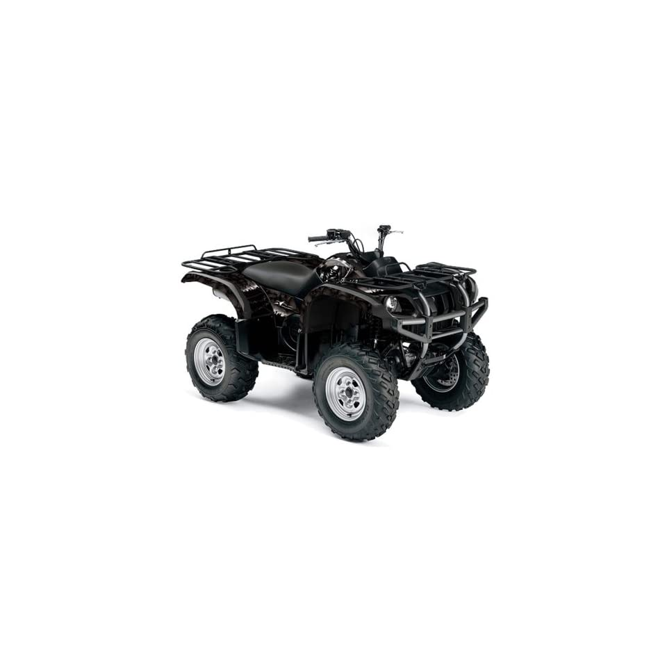 AMR Racing Yamaha Grizzly 660 ATV Quad Graphic Kit   Reaper Green
