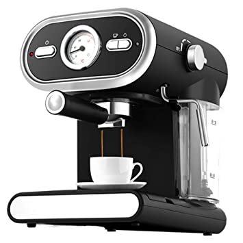 DSKJ Maquina De Cafe Máquina De Café Comercial Semi Automática Tipo Vapor Espuma De Leche: Amazon.es: Hogar