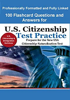 Amazon.com: 100 Flashcard Questions and Answers for U.S. ...