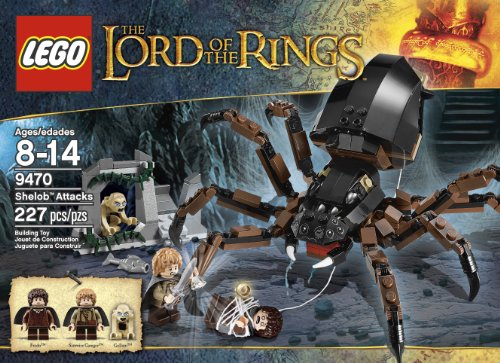 LEGO The Lord of the Rings Hobbit Shelob Attacks - Hobbit Spiders With The Sets Lego