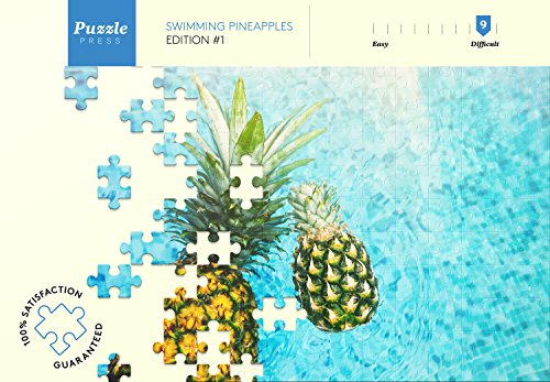 Puzzle Press Pineapple Jigsaw Puzzle For Adult, 1000-Piece