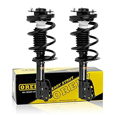 OREDY Front Pair 2Pieces Complete Struts Assembly Shock Coil Spring Assembly Kit Compatible with Chevy Classic 2004 2005/Chevy Malibu/Oldsmobile Alero/Pontiac Grand AM 1999 2000 2001 2002 2003