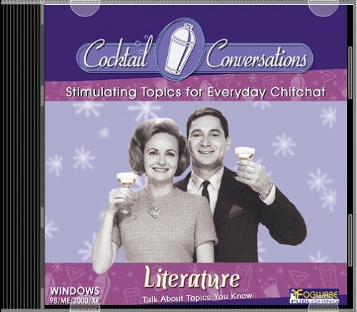Cocktail Conversations:  Literature (Jewel Case) ()