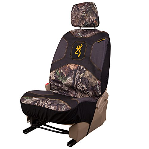 (Browning Camo Low Back Seat Cover, Mossy Oak Break-Up Country Camo, Single)