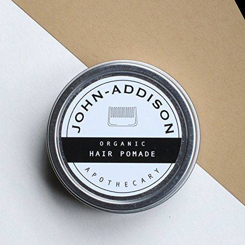 ORGANIC HAIR BALM by JOHN ADDISON - Pomade - Sculpt Texturize Strengthen Your Hair - Prevents Damage Breakage Splittends Dandruff - Promotes Healthy Hair & Scalp - Restores Hairs Natural Shine by John-Addison Organic