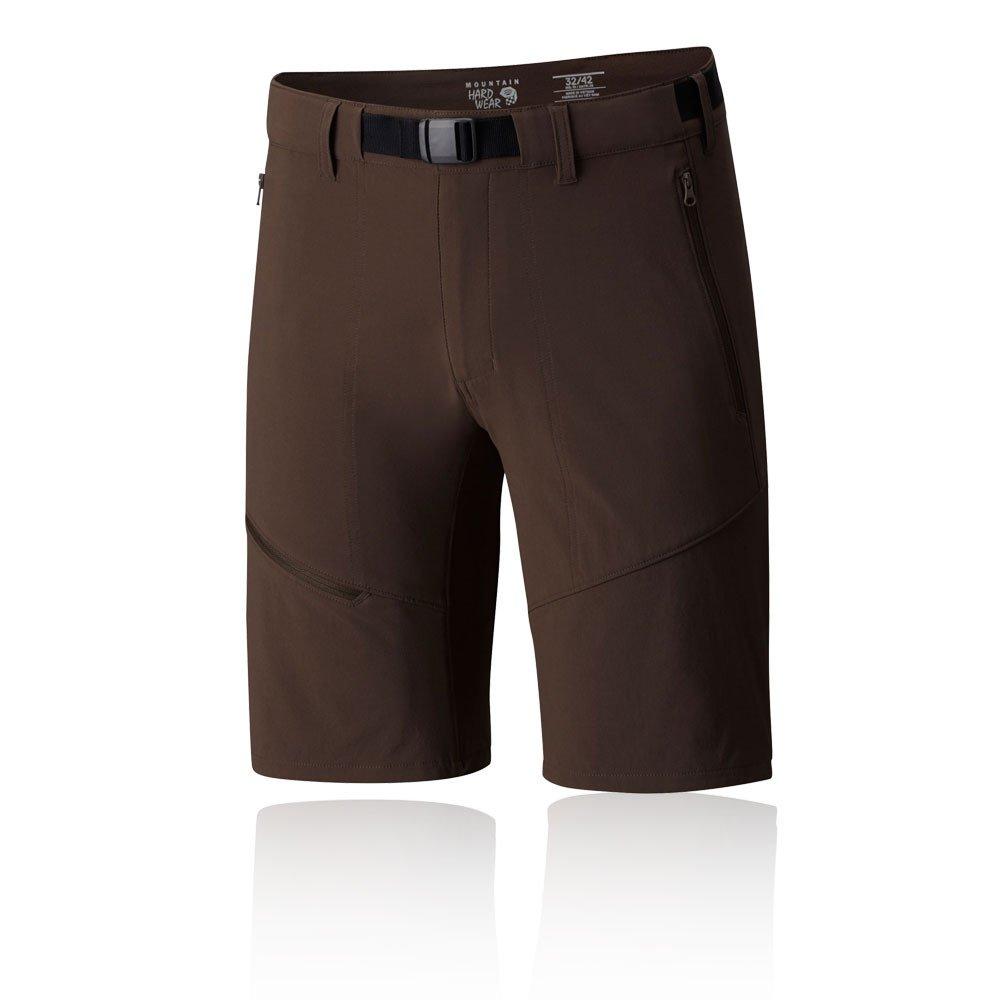 Mountain Hardwear Chockstone Hike Shorts – Men 's B079H2DSPN Small|ブラウン ブラウン Small